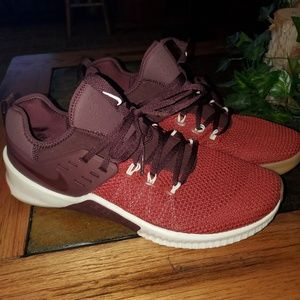 Other - Nike Free X Metcon Dune Red Crossfit Shoes size 12